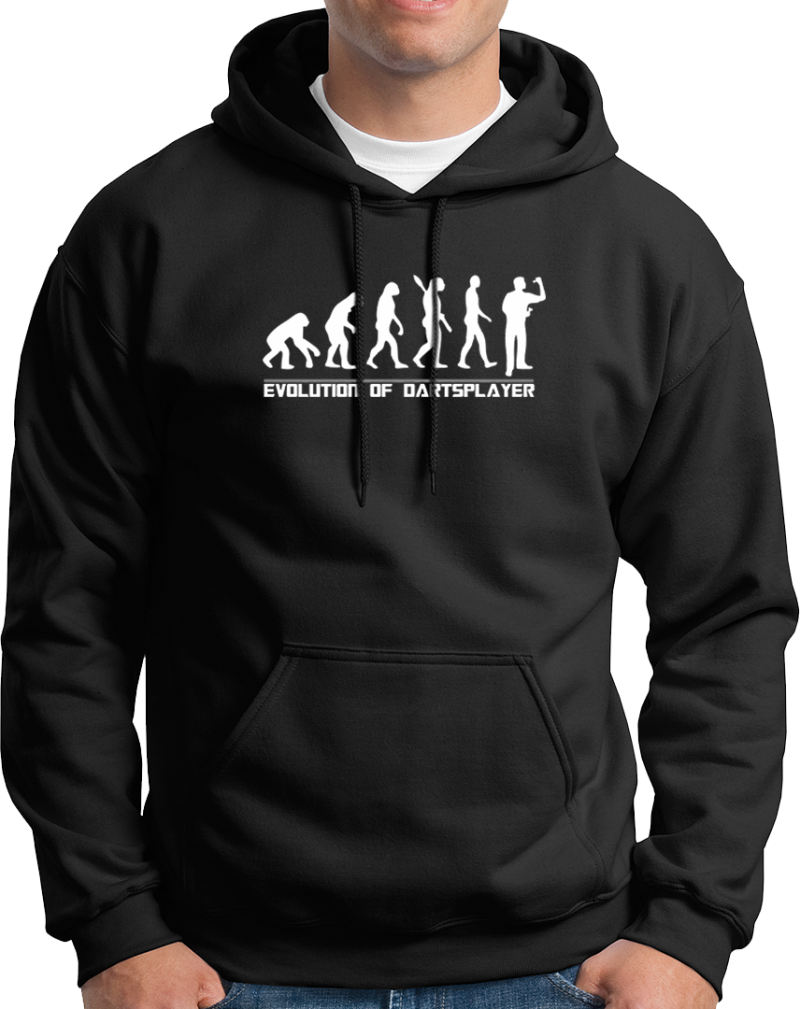 "Hoodie ""Evolution of Darts"""