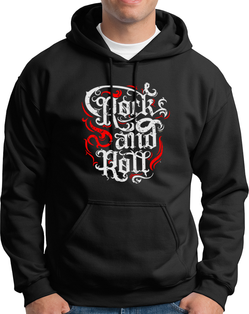 """Hoodie """"Rock and Roll"""""""