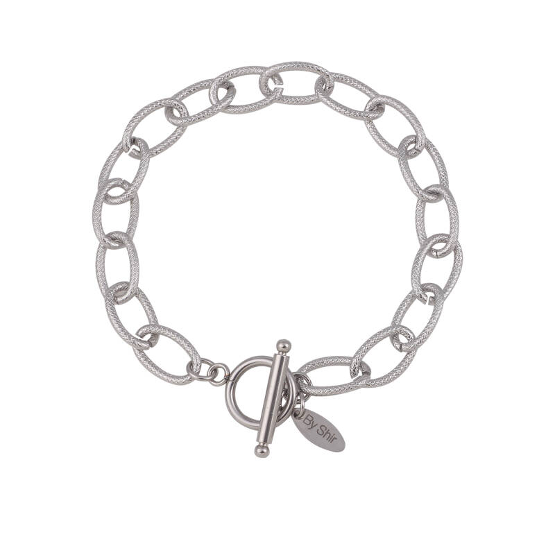 By Shir Armband Luxe Tess Edelstaal