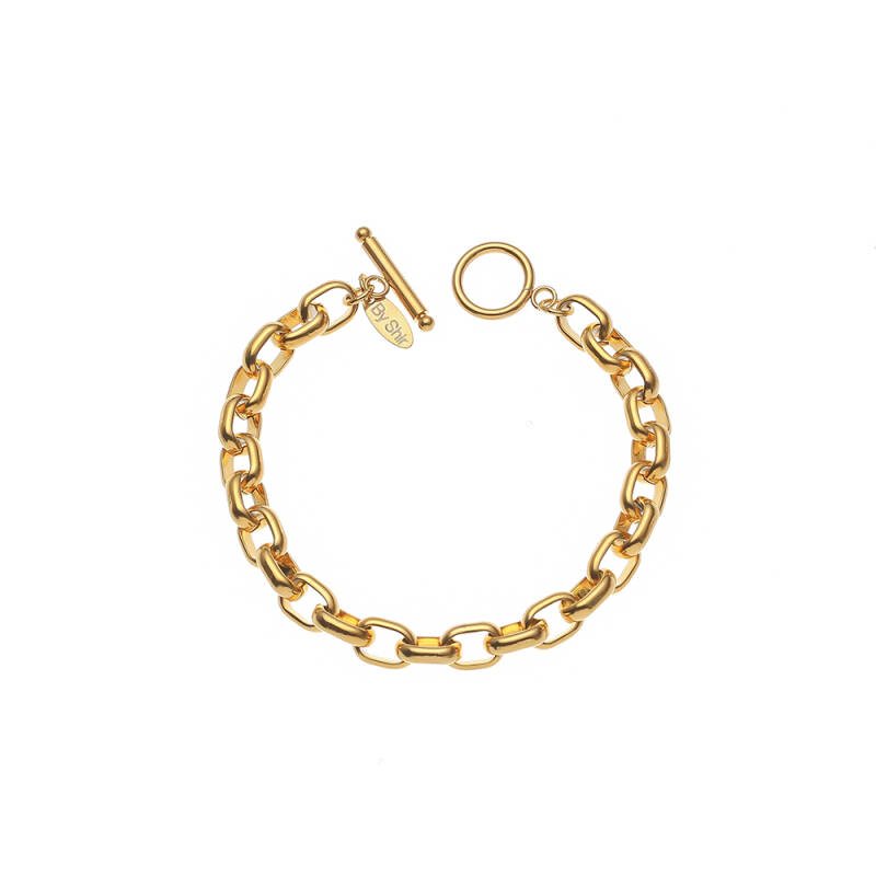 By Shir Armband Luxe Olivia Goud