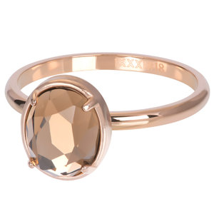 iXXXi 2mm glam oval champagne rosé
