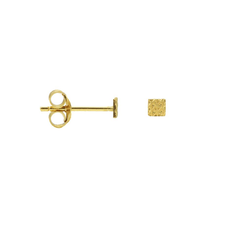 Karma Symbols Square Structure Goldplated