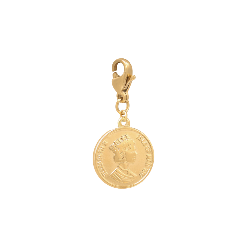 Yehwang Charm Queen Coin goud