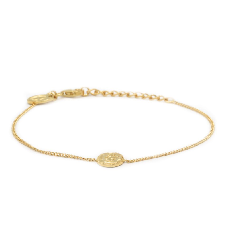 Karma Bracelet Coin Goldplated