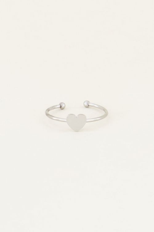 My jewellery ring Sweet Little Heart zilver