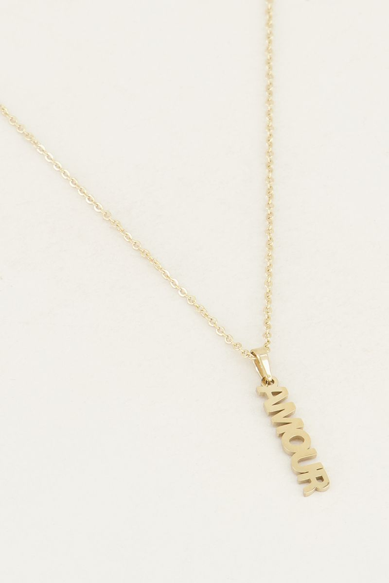 My jewellery ketting amour goud
