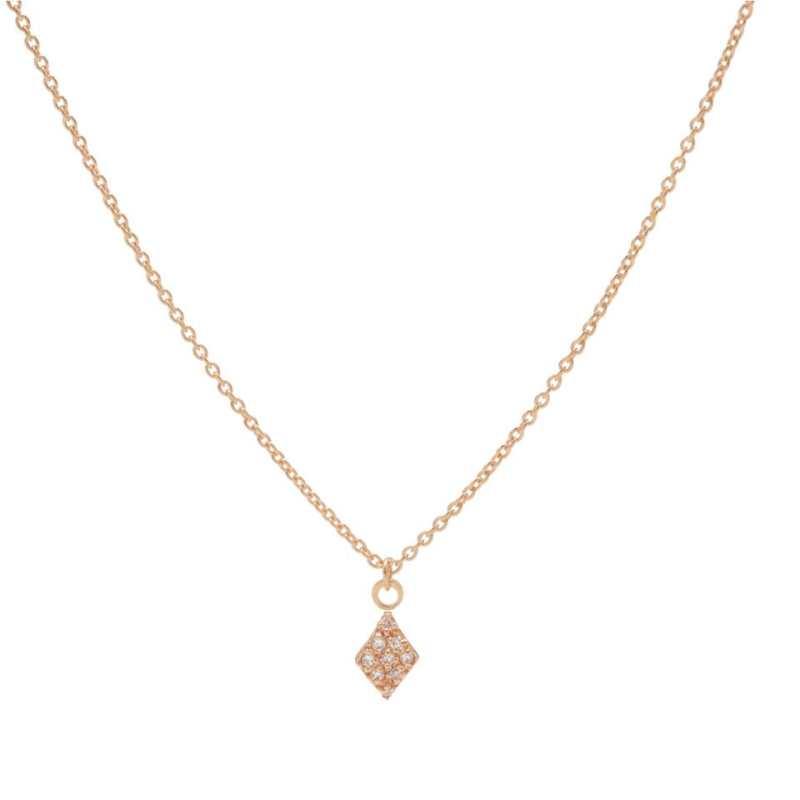 Karma ketting rosé Zirconia Diamond