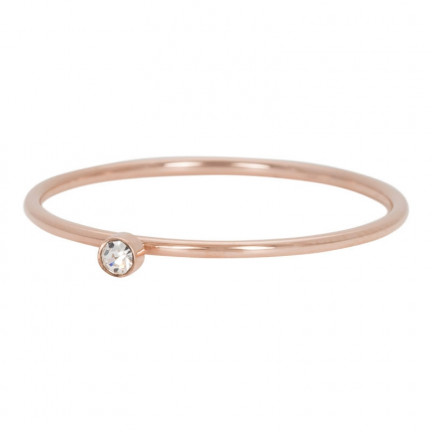 iXXXi Ring Crystal One Rose - R03905-02