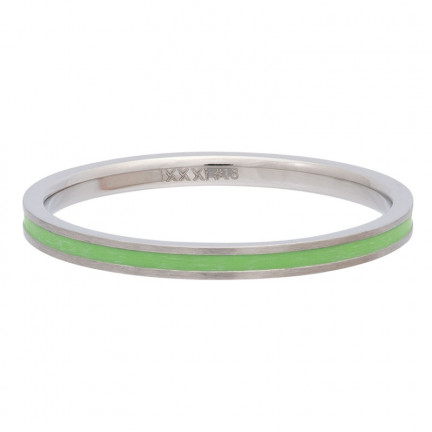 iXXXi Ring Line Green - R02310-04