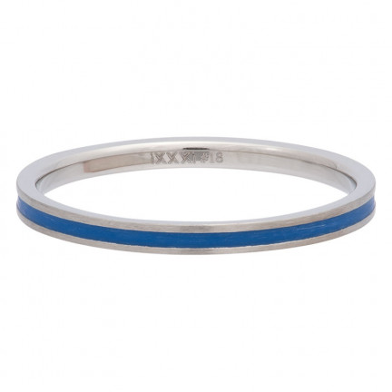 iXXXi Ring Line Blue - R02311-04