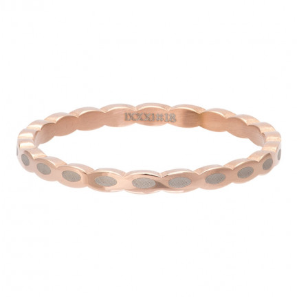 iXXXi Ring Oval Shape Rose - R02815-02