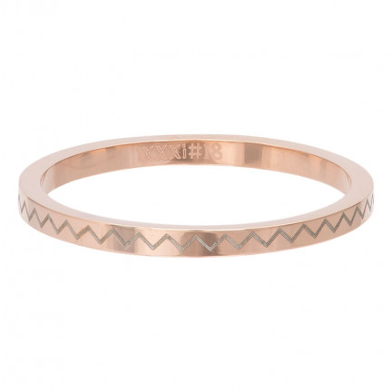 iXXXi Ring Heartbeat Rose - R02816-02