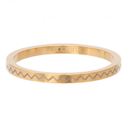 iXXXi Ring Heartbeat Gold Color - R02816-01
