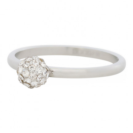 iXXXi Ring 1 Ball Fill Clear Crystals - R04204-03