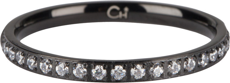 Charmins ring moiety crystals black