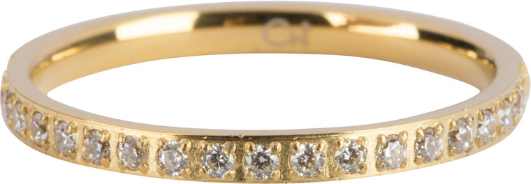 Charmins ring moiety crystals gold