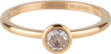 Charmins ring stylish bright gold