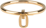 Charmins ring dangling oval gold