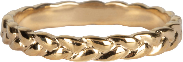 Charmins ring braided beauty gold