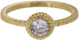 Charmins ring iconic gold