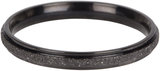 Charmins ring sanded and shiny black