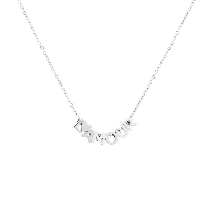 Sunset ketting JE11882 - SILVER