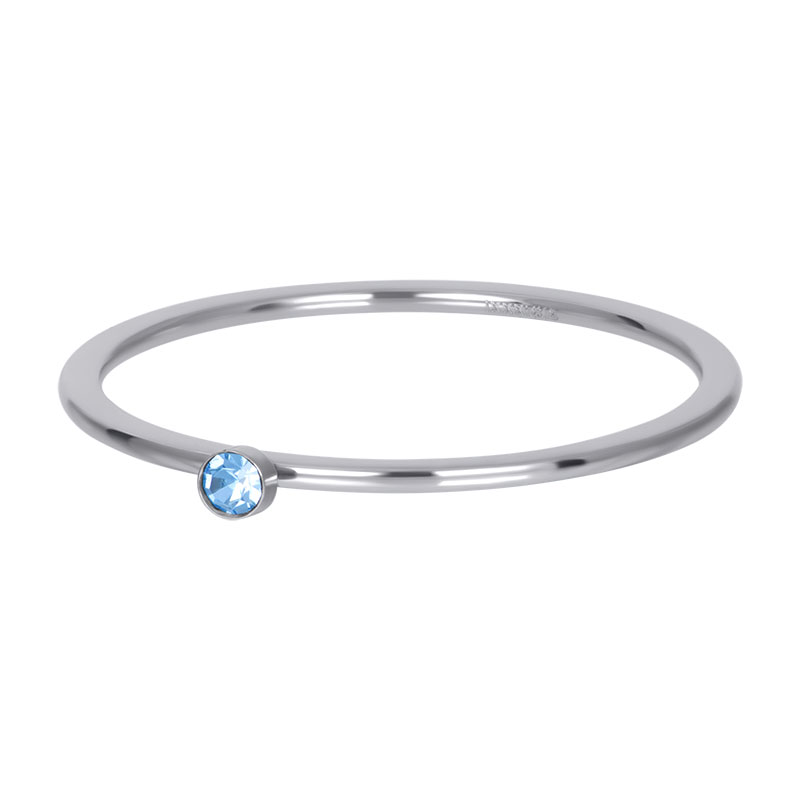 iXXXi ring 1mm light saphire 1 stone crystal R03909-03