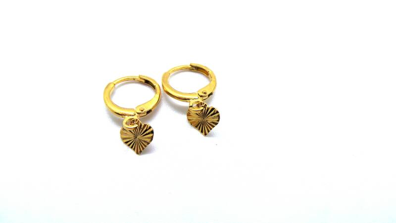 A touch of gold earring - Gold