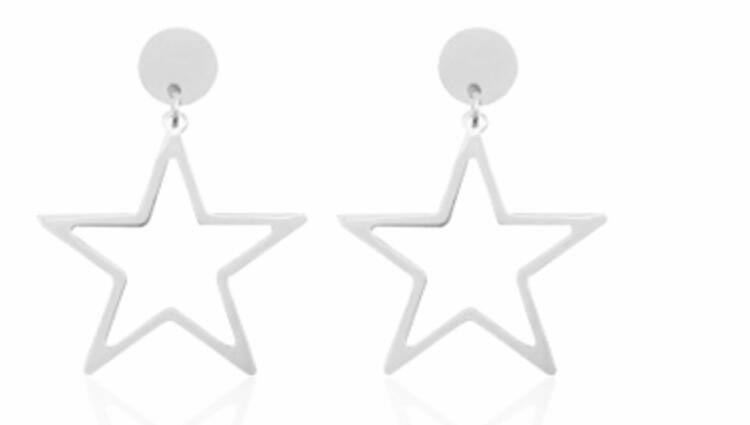 Glam stars earrings - Silver