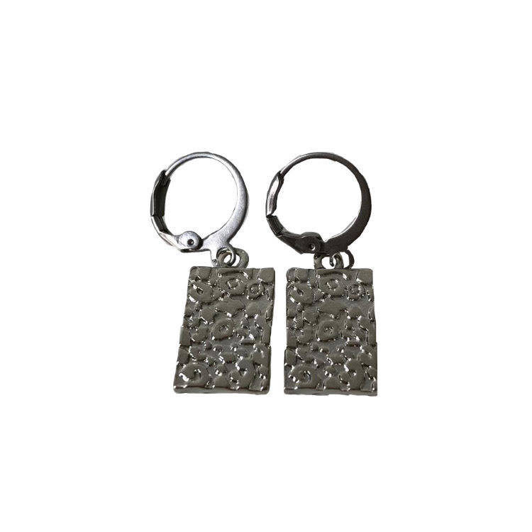 Panter tags hoops silver