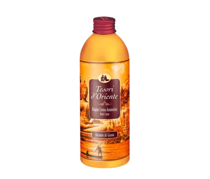 Tesori d'Oriente bad- en douchecreme JAVA JASMIJN 500ml
