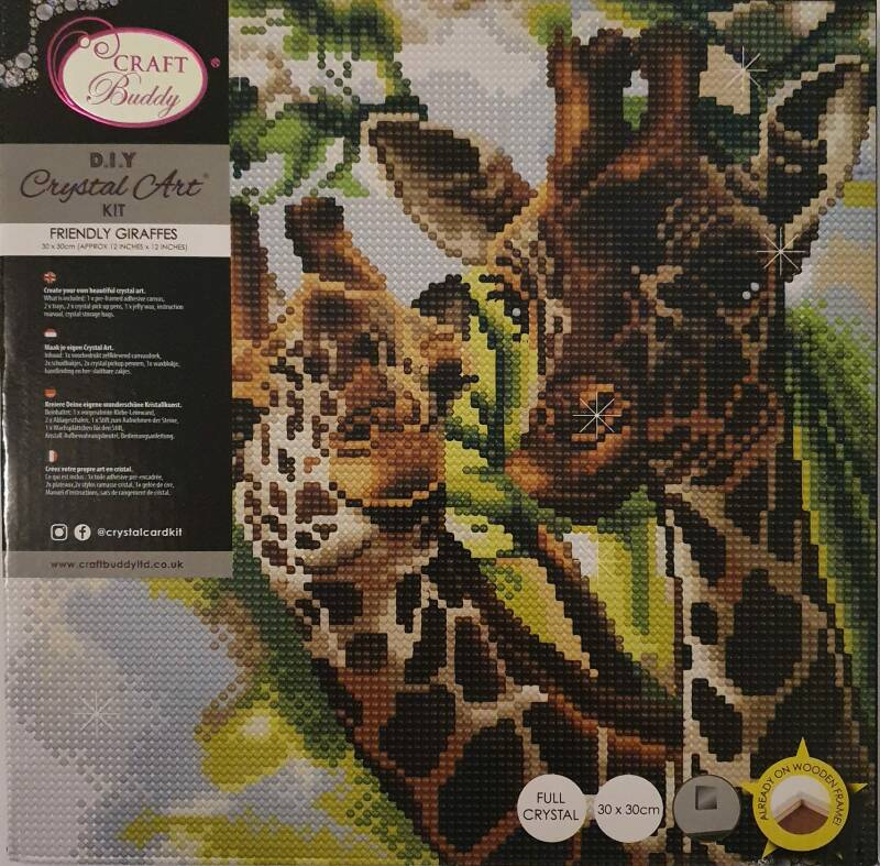 Diamond Painting Jungle Ass. (Canvas)