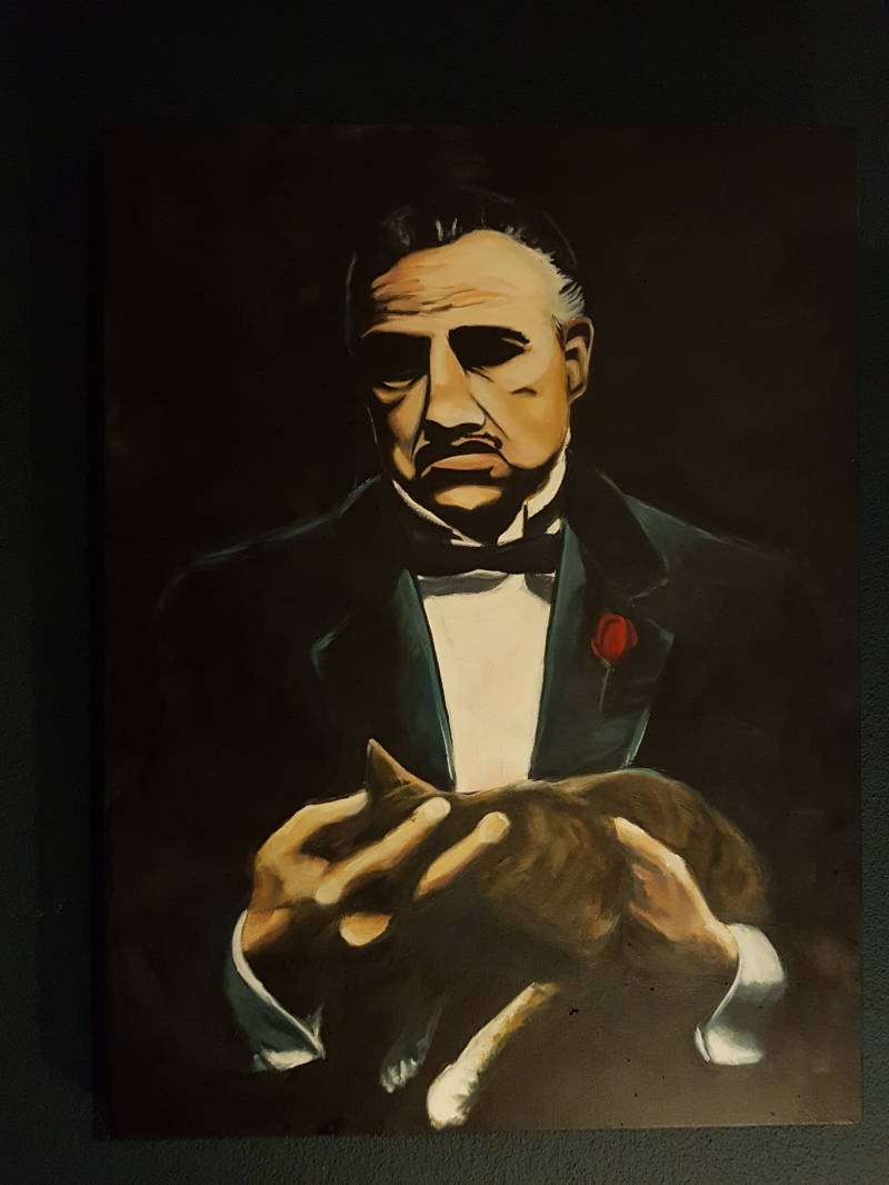 Schilderij The Godfather