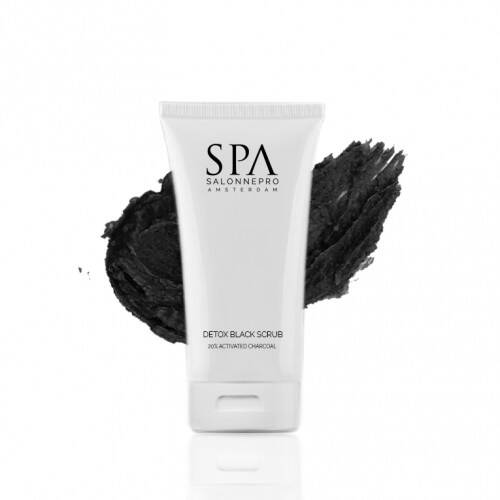 SPA SalonnePro Detox Black Scrub