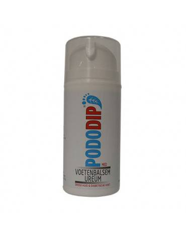 Pododip Voetenbalsem Ureum 100 ml of 500 ml