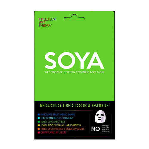 BeautyFace Soya Mask - Reducing Tired Look & Fatique