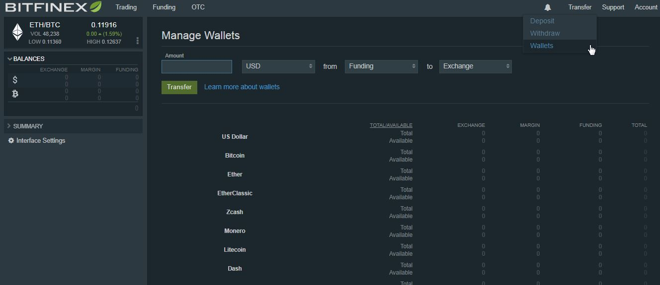 Can You Buy Bitcoin From Usd Wallet In Coinbase Bitfinex Deposit