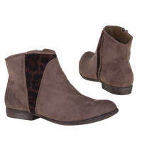 Lage boot (taupe)