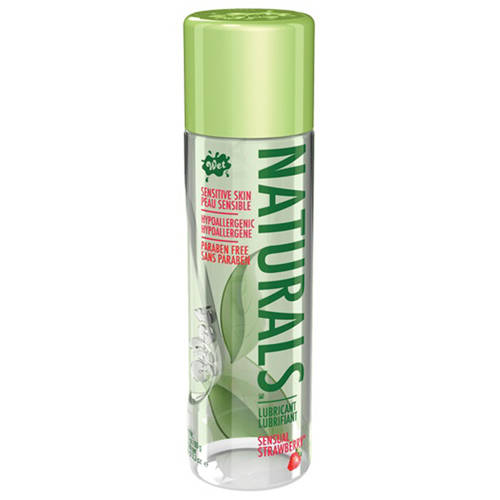 WET Naturals Sensual Strawberry Glijmiddel 98ml