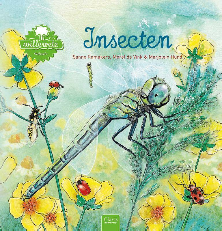 Willewete. Insecten - Sanne Ramakers