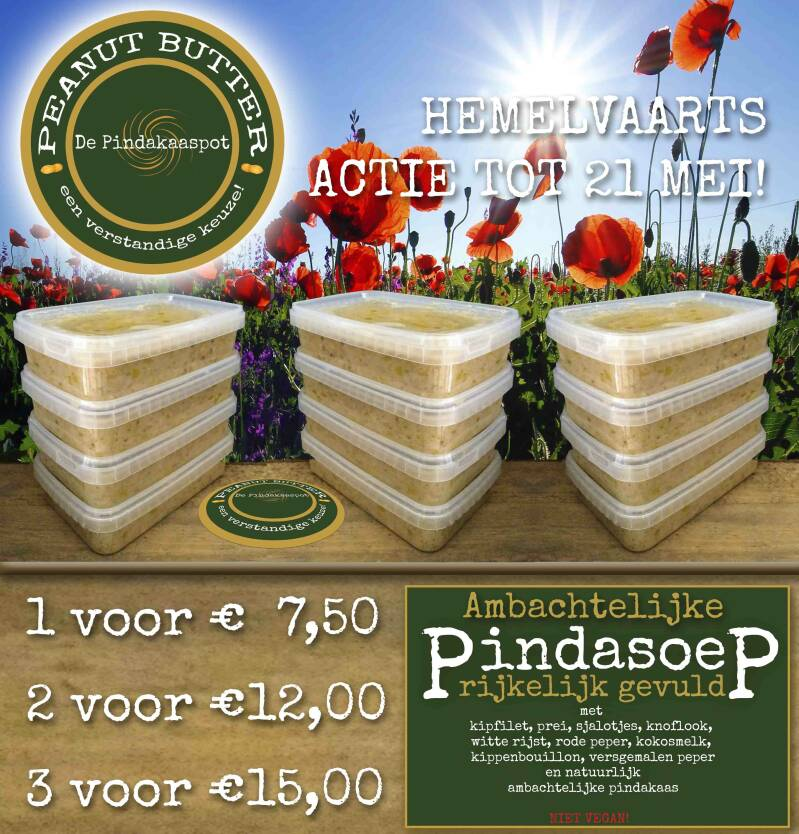 Pindasoep 750ml