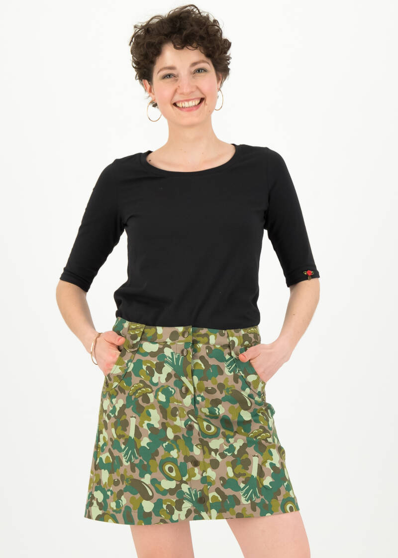 Snake, rattle and roll skirt - Veggieflage
