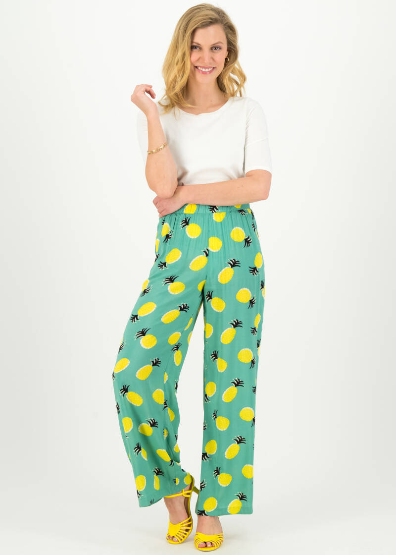 Lady flatterby pants - Pinaple party