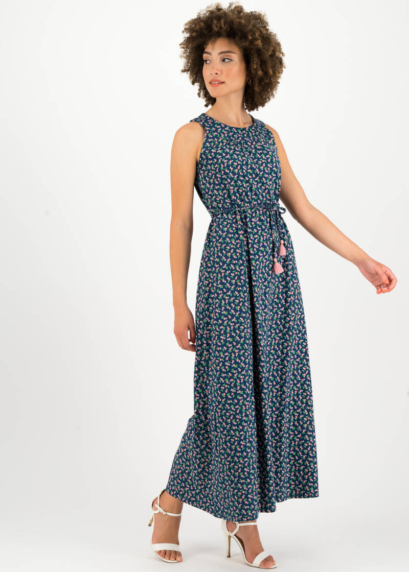 Florida flora dress - Beach berry