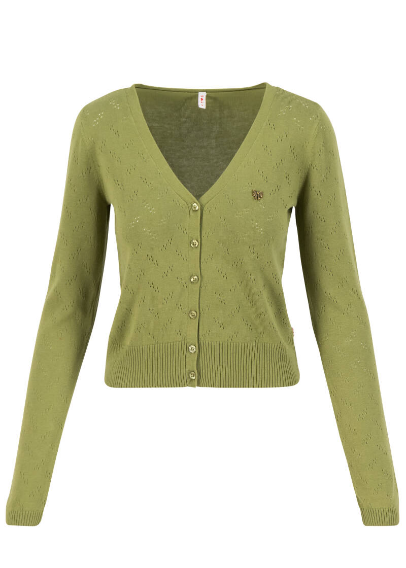 Pretty petite cardy - Green grape