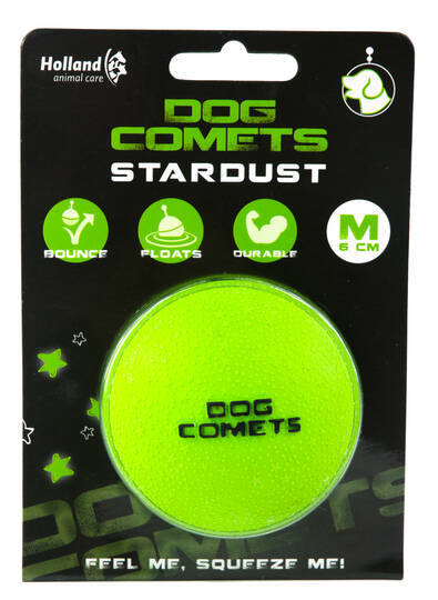 Dog Comets Ball Stardust Groen M