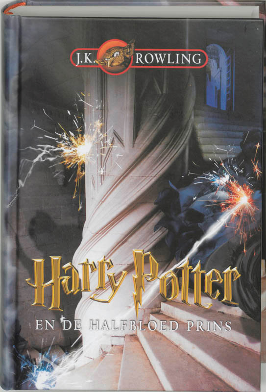 Harry Potter en de halfbloed prins dl 6 (15+)