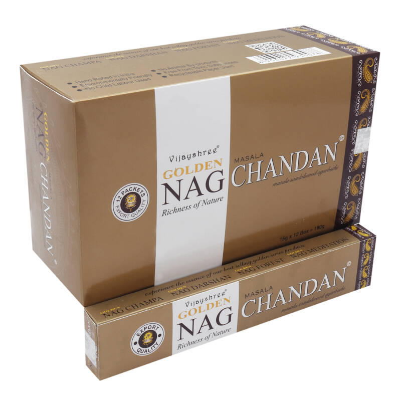 Golden Nag Chandan Wierook 12x 15g