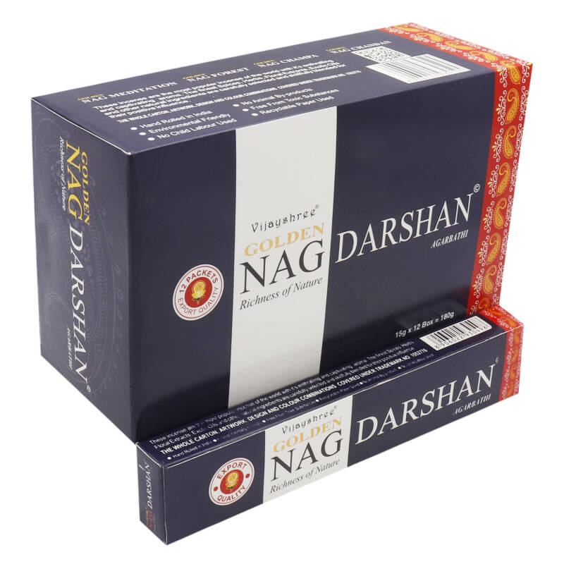 Golden Nag Darshan Wierook 12x 15g