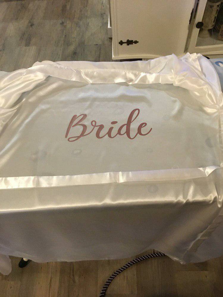 STRIJKAPPLICATIE BRIDE